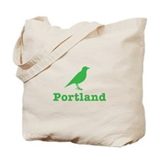 Portland Bird Art Tote Bag