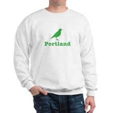 Portland Bird Art Sweatshirt
