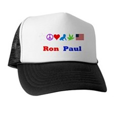 Ron Paul Symbols Trucker Hat