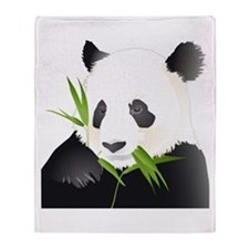 Panda Bear Throw Blanket