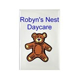 Robyn's Nest Daycare Rectangle Magnet (10 pack)