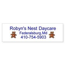 Robyn's Nest Daycare Bumper Bumper Sticker