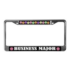 Business Major License Frame