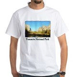 "Yosemite Valley ""Arty"" t-shirt--white."
