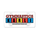 Karli Aluminum License Plate