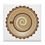 Coffee Lovers Tile Coaster