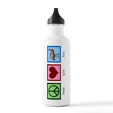 Peace Love Emu Water Bottle
