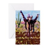 Saguaro Zombies Zombie 3 Greeting Cards (Pk of 20)