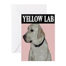 Cool King lab Greeting Cards (Pk of 10)