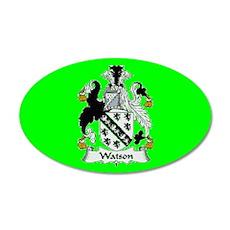 Clan Watson (ireland) 38.5 x 24.5 Oval Wall Peel