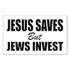 Jews Invest Decal