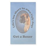 Get a Boxer Rectangle Decal