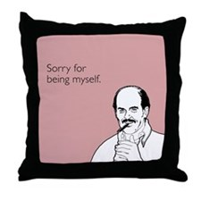 Being Myself Throw Pillow