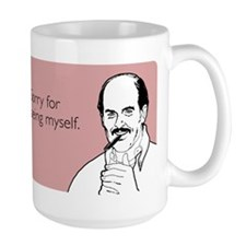 Being Myself Large Mug