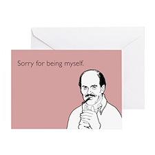 Being Myself Greeting Card