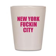 New York Fuckin City Shot Glass
