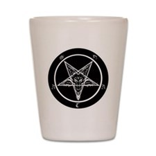 Cute Baphomet Shot Glass