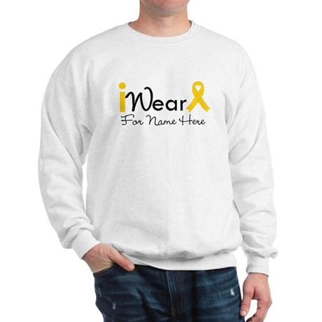 Personalize Childhood Cancer Sweatshirt