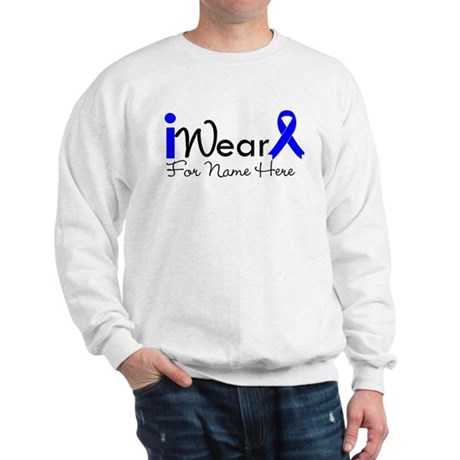 Personalize Colon Cancer Sweatshirt