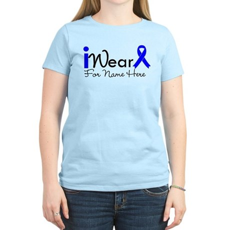 Personalize Colon Cancer Women's Light T-Shirt