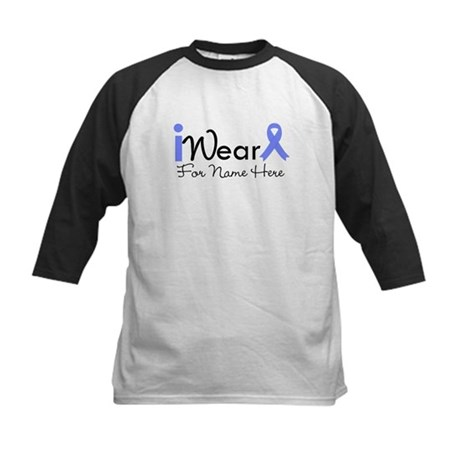 Personalize Esophageal Cancer Kids Baseball Jersey