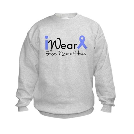 Personalize Esophageal Cancer Kids Sweatshirt
