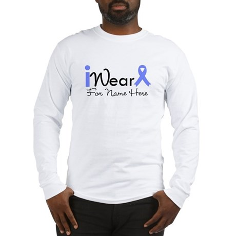 Personalize Esophageal Cancer Long Sleeve T-Shirt