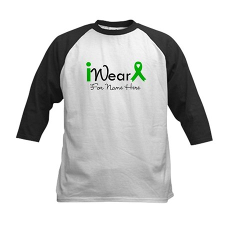 Personalize Bile Duct Cancer Kids Baseball Jersey