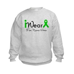 Personalize Bile Duct Cancer Kids Sweatshirt