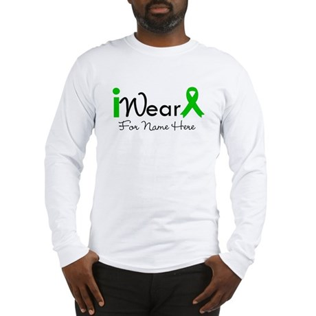 Personalize Bile Duct Cancer Long Sleeve T-Shirt