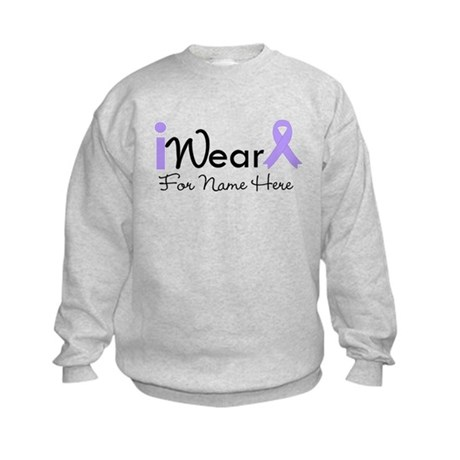 Personalize General Cancer Kids Sweatshirt