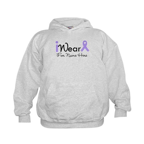 Personalize General Cancer Kids Hoodie