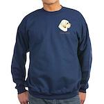 Clumber Spaniel Sweatshirt (dark)