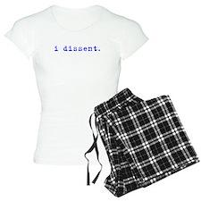 I Dissent (blue) pajamas