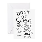 DANIEL JOHNSTON Greeting Cards (Pk of 10)