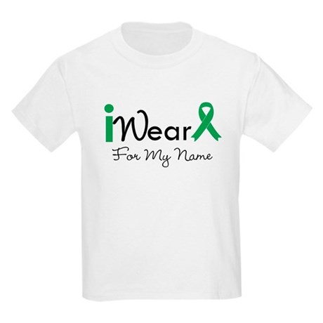 Personalize Liver Cancer Kids Light T-Shirt