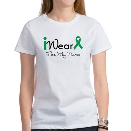 Personalize Liver Cancer Women's T-Shirt