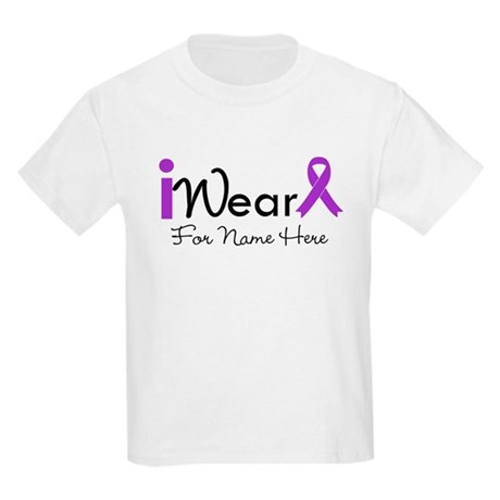 Personalize Lupus Kids Light T-Shirt