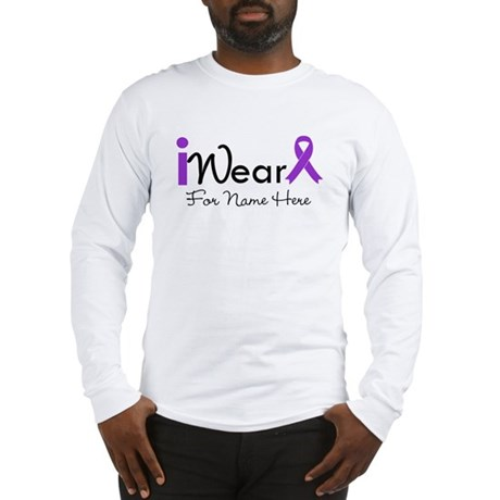 Personalize Lupus Long Sleeve T-Shirt