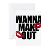 Wanna Make Out Greeting Cards (Pk of 10)