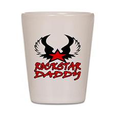 Rockstar Daddy Shot Glass