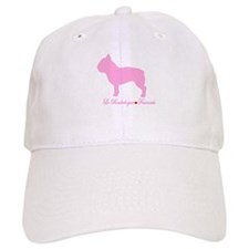 French Bulldog Pink Baseball Cap