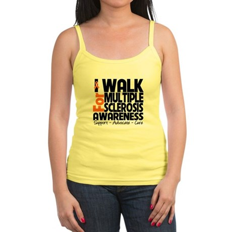 I Walk Multiple Sclerosis Jr. Spaghetti Tank