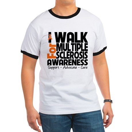 I Walk Multiple Sclerosis Ringer T