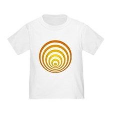 toddler T-shirt with crop circle