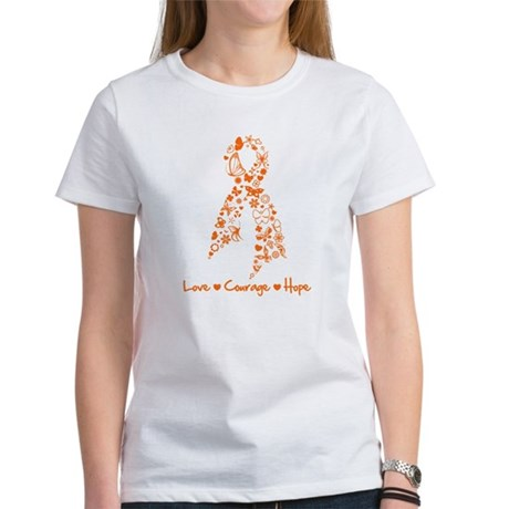 Ribbon Multiple Sclerosis Women's T-Shirt