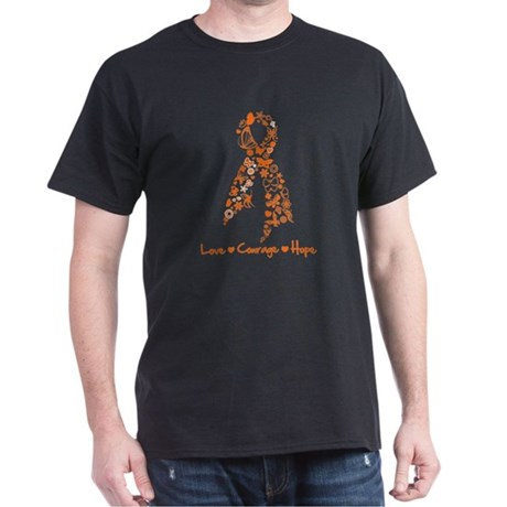 Ribbon Multiple Sclerosis Dark T-Shirt
