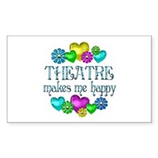 Theatre Happiness Decal