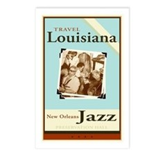 Travel Louisiana - Jazz Postcards (Package of 8)