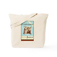 Travel Louisiana - Jazz Tote Bag